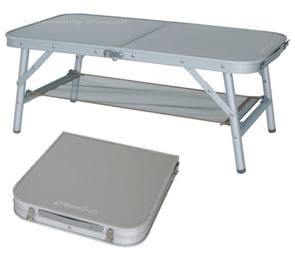 Caravaning Shopch Tisch St Remy 80 X 40 Cm Silbergrau