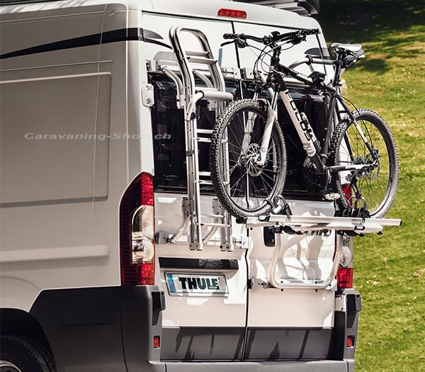 caravaning fahrradtr ger thule elite g2 f r. Black Bedroom Furniture Sets. Home Design Ideas